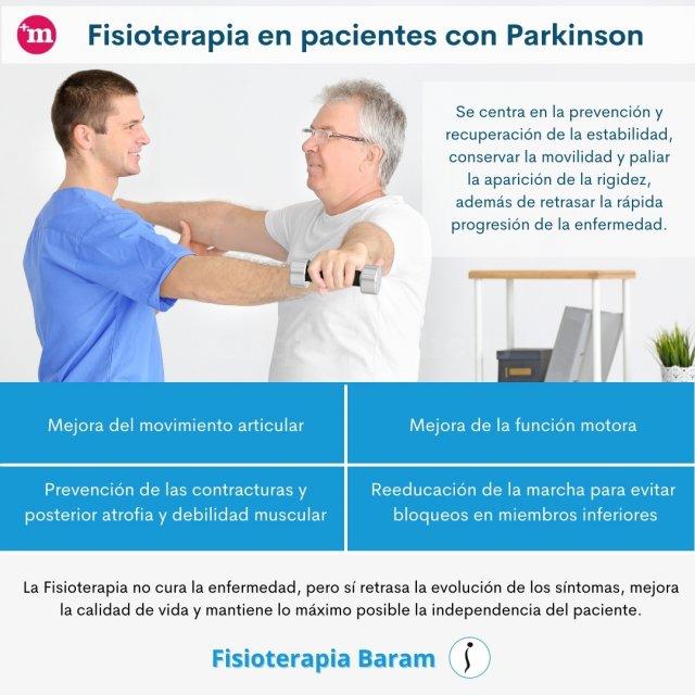 Beneficios de la fisioterapia en pacientes con Parkinson - Fisioterapia Baram