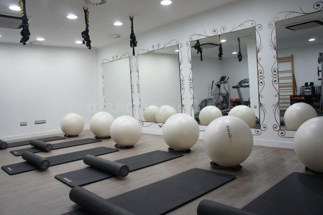 Sala de Pilates suelo en SportSalud - Marta Alegre Frandovínez