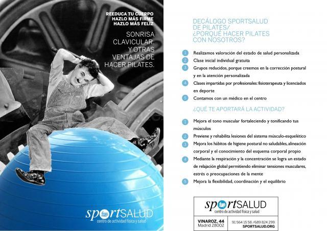 pilates - Sportsalud. Centro de Actividad Física y Salud