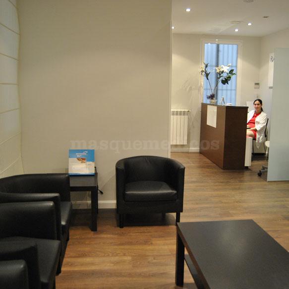Sala de espera y recepción - Marta Suárez