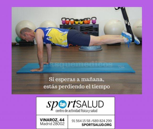 Ejercicio - SportSalud