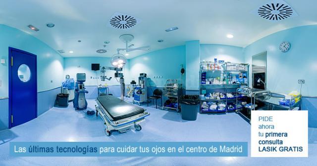 Quirófano Clínica AVER - Aver Centro de Oftalmología