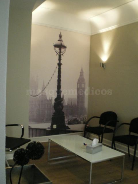 Sala de espera - Oftalmología Orduna