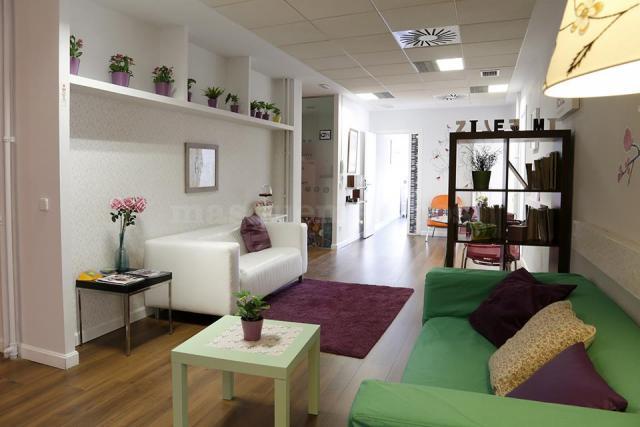 Sala de espera del Instituto de Psicología Psicode en Madrid - Instituto PSICODE