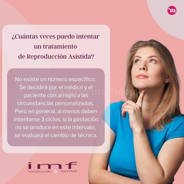 ¿Cuántas veces puedo intentar  un tratamiento  de Reproducción Asistida? - Instituto Madrileño de Fertilidad