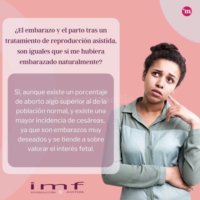 Embarazo y parto tras un tratamiento de reproducción asistida - Instituto Madrileño de Fertilidad