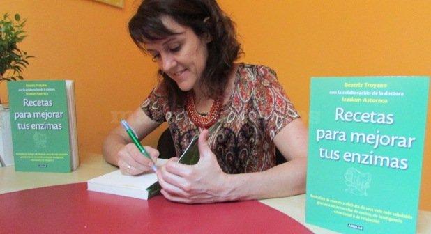 Presentación Libro: Recetas para Mejorar tus Enzimas - Beatriz Troyano Díaz