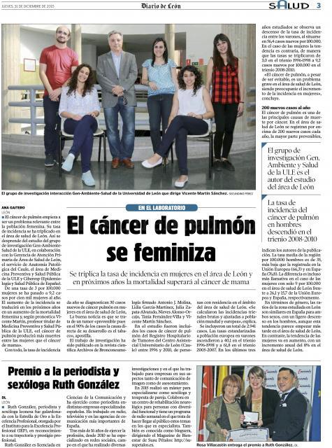Aparición en el periódico - Ruth González Ousset