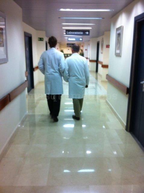 Dr. Casal y Dr. Sanchez Benítez  - Ricardo Casal Grau