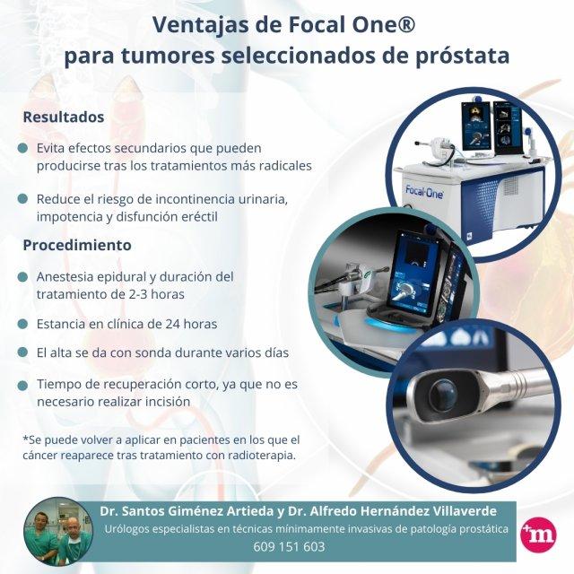 Focal One®. Tratamiento focal del cáncer de próstata localizado - Unidad Láser Prostático
