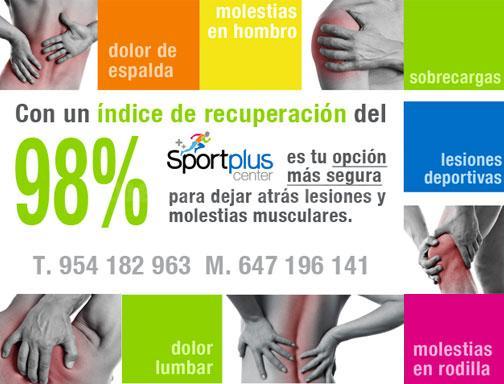 Fisioterapueta en Mairena del Aljarafe - SportPlus Center