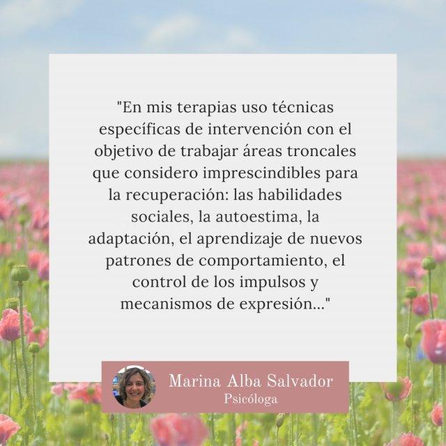 - Marina Alba Salvador