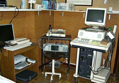 Sala de electrocardio - Dr. Angel Almansa Pastor