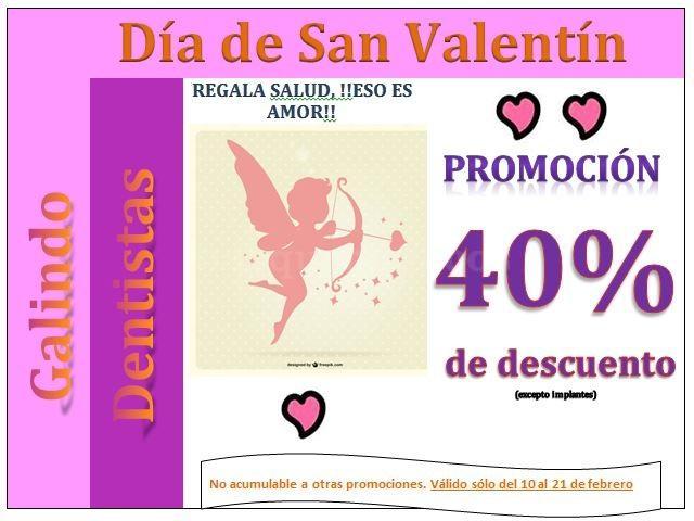Oferta San Valentín - Galindo Dentistas