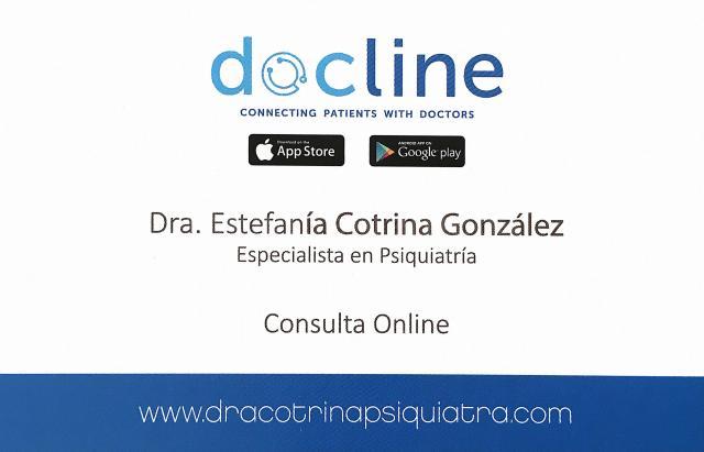 Consulta online - Dra. Estefanía Cotrina González