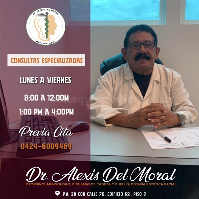 Horario Consultas - Centro De Otorrinolaringologia De Maracaibo  C.a