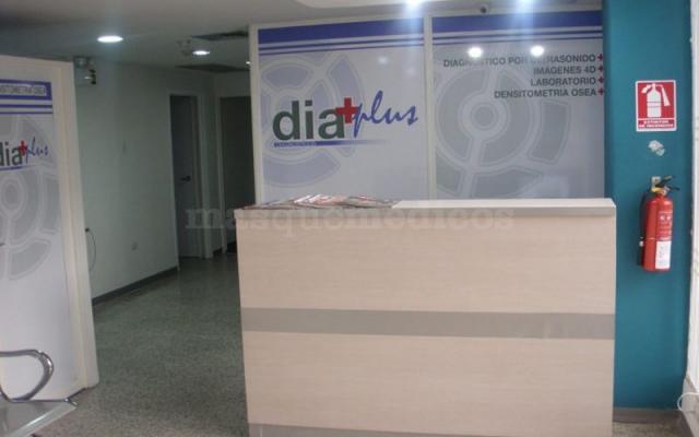 Recepción y Sala de espera Diaplus Sede Principal - Diaplus  C.a