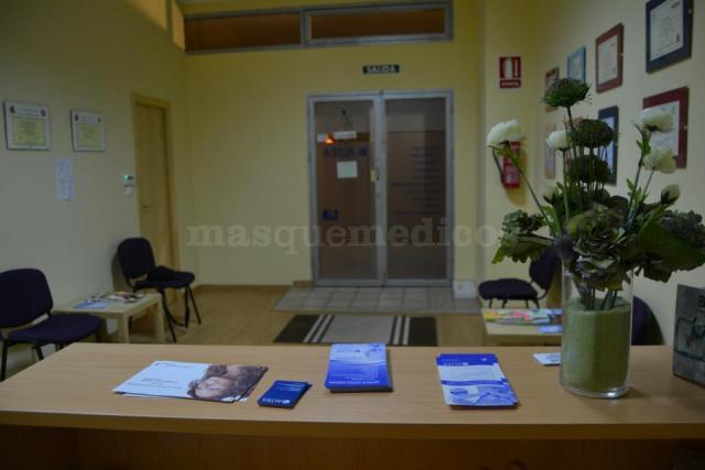 Recepción - Centro de Fisioterapia Nueva Altea