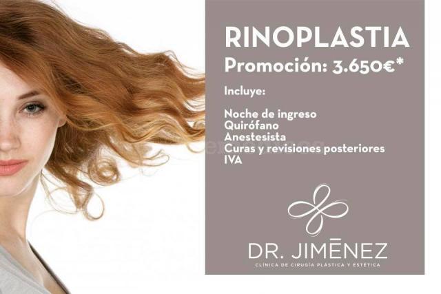 Rinoplastia - Dr. José María Jiménez Rodríguez