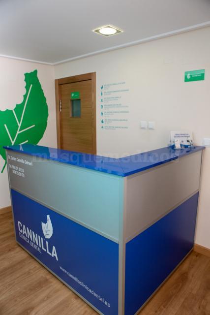 Recepción - Cannilla Clínica Dental