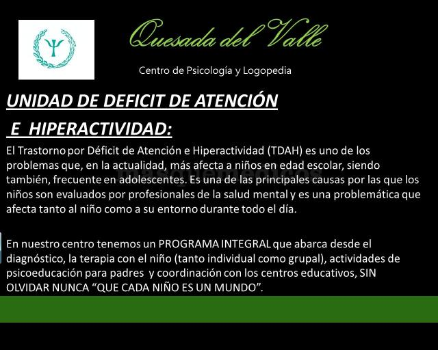 - Centro Psicológico Quesada del Valle