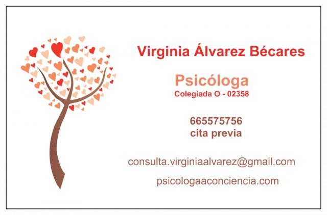 - Virginia Álvarez Bécares