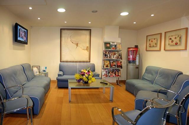 Sala de espera - Clínica Dental Alba