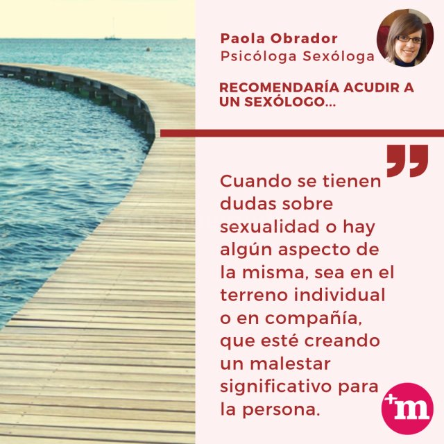 - Paola Obrador  - Psicología y Sexología