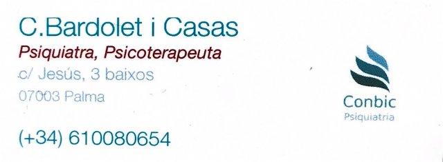 - Concepció Bardolet Casas
