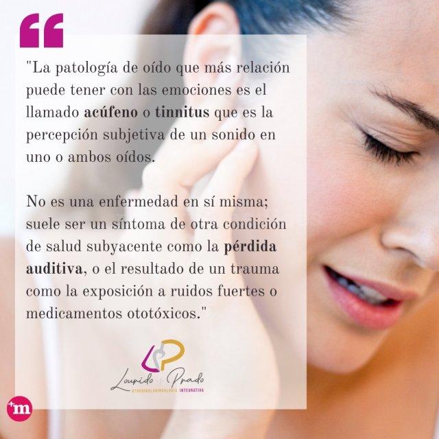 Patología de oído - Lourido y Prado. Otorrinolaringología integrativa.