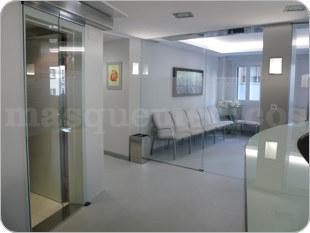 Sala de espera - Clínica de Oftalmología Velázquez & Villoria