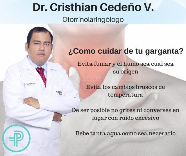 - Dr. Cristhian Cedeño Villavicencio