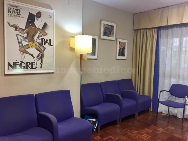 Sala de espera consulta Fray Luis de Granada, Córdoba  - Juan Ignacio Martínez Hens