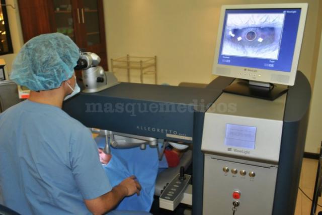 Cirugía Excimer laser - Clínica Sancho