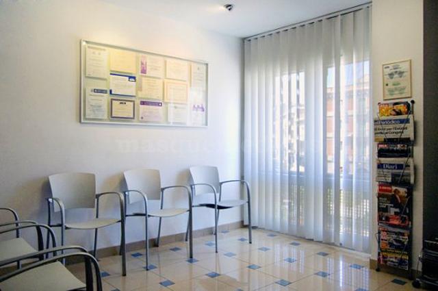 Sala de espera - Clínica Dental Roche