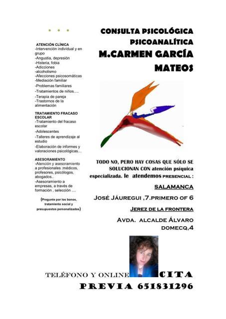 - M. Carmen García Mateos