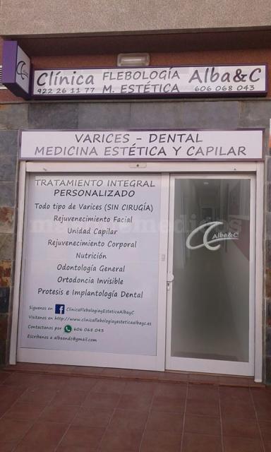 La clínica - Clínica Flebología y Medicina Estética Alba&C