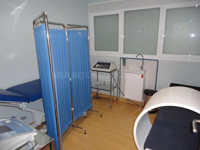 Área de Fisioterapia - Clínica de Fisio-ozonoterapia Natural Med S.L