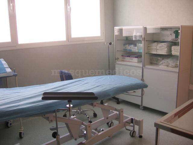 Área estéril para la aplicación del ozono - Clínica de Fisio-ozonoterapia Natural Med S.L