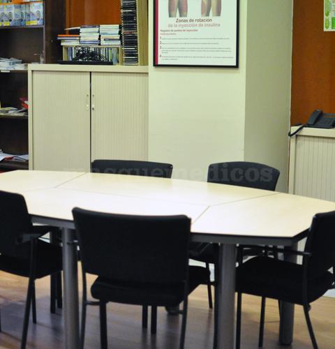 Sala de reuniones - Clínica NTDE