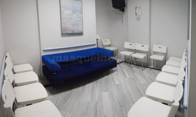 Sala de espera - Clínica Triana