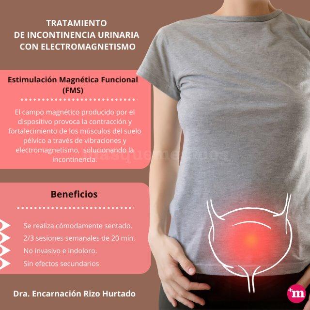 Dra. Rizo- Tratamiento de incontinencia urinaria con electromagnetismo - Encarnación Rizo Hurtado de Mendoza