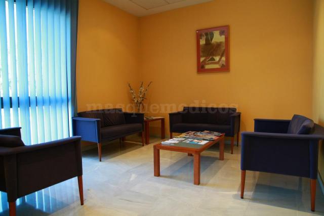 Sala de espera - Clínica Piñero