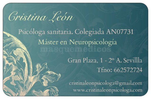 Tarjeta - Cristina León