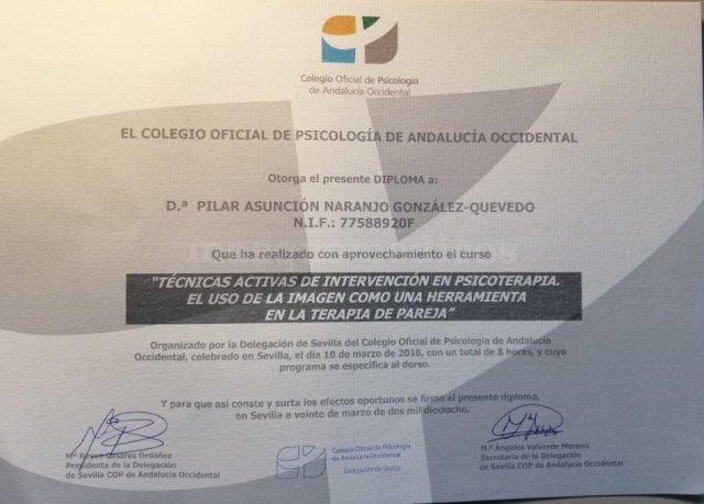 Terapia de pareja - Pilar Naranjo González-Quevedo