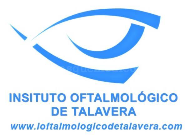 Logo con web - Instituto Oftalmológico de Talavera