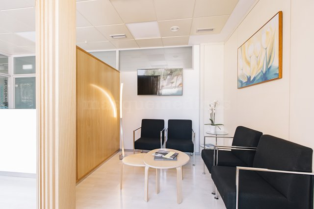 Sala de espera - Clínica Dra. Aguilar Rosell