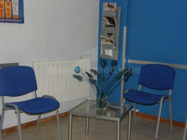 Sala de espera - Centro Profesional de Recuperación Funcional