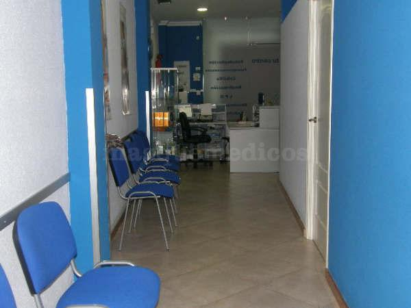 Recepción y pasillo - Centro Profesional de Recuperación Funcional