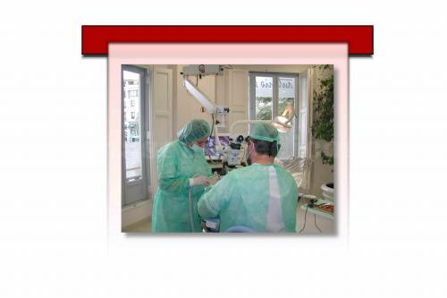 Microscopio dental - Clínica Dental Antonio Sala